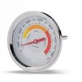 OEM Stove thermometer Bimetallic thermometer