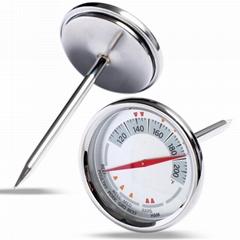 食品溫度計 探針式廚房烹飪烘焙溫度計烤肉油溫計水溫計