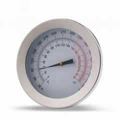 烤箱温度计不锈钢温度计 0-280度蛋糕用品厂家支持logo定做