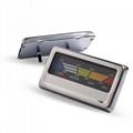 Bimetallic Thermometer BBQ Furnace Thermometer Rectangular