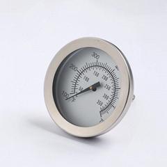 防水指針式溫度計食品烘培廚房溫度計雙金屬探針液體測溫筆