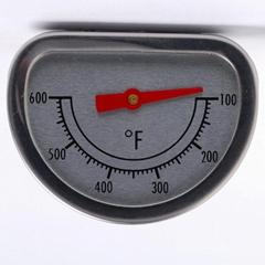 T828 椭圆形 双金属 烧烤炉温度计 高质量 低价格 可定制