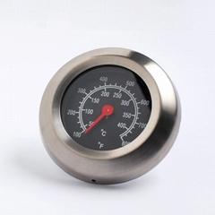 跨境现货烤炉温度计 烤炉温度表 BBQ pizza 不锈钢金属温度计