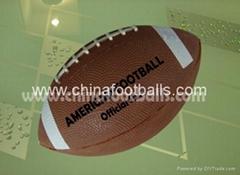 Training American Footballs