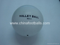 Rubber  Volleyballs
