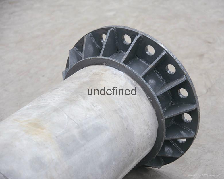 質輕薄壁高強耐腐蝕抗酸碱鹽超高性能混凝土杆 1