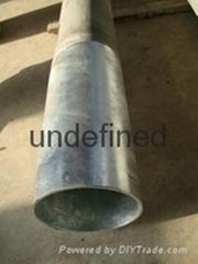 薄壁輕質高強低成本UHPC水泥杆