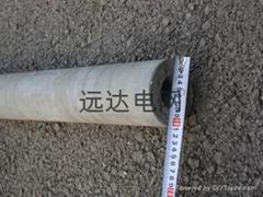 超轻型高强度混凝土杆