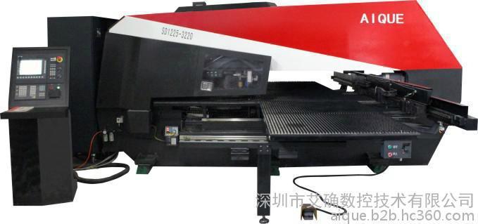 艾确厂家直销SD1225数控冲床5轴全电伺服32工位 1