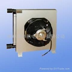 帶有直流風機超薄型ACE系鋁制空氣冷卻器