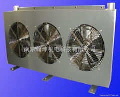 Large flow of air cooler