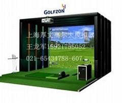供應上海GOLF-ZON2015款室內高爾夫檢測器