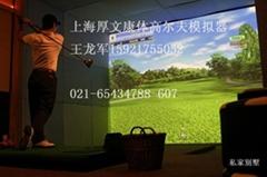 美國aboutGolf 雷達監測T-BOX高爾夫模擬器