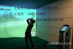 韩国X-Golf室内模拟高尔夫2015三维球场