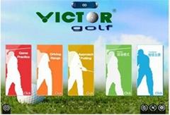 供應上海VICTOR室內模擬高爾夫2015款