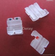 I series Good quality Dental ceramic brackets