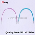 Niti wire with color  manufacturer