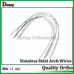 orthodontic wire Dental wire  Niti archwire Stainless steel archwire