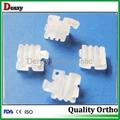 Ceramic bracket-orthodontic material