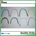 coated Niti arch wires Color dental wire