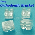 Sapphire bracket orthodontic bracket