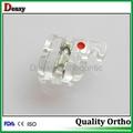 Resin bracket with metal slot