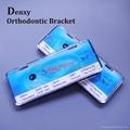 Metal bracket Orthodontic braces Monoblock Brackets
