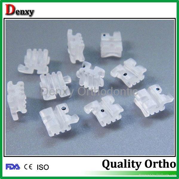 Denxy Dental Supplies Orthodontic material supplier ceramic bracket 18