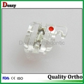Dental clear bracket orthodontic resin brackets