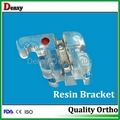 dental composite bracket dental resin brackets orthodontic clear brackets metal