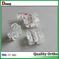 clear bracket dental manufacturer clear brackets sapphire brackets