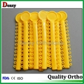 Dental elastics ligature ties Dental manufacturer
