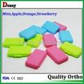 fruit flavored dental wax
