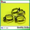 Orthodontic molar bands