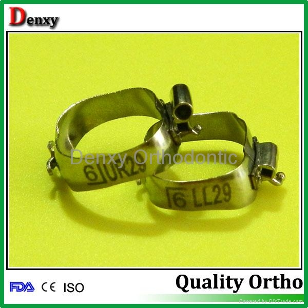 Dental bands with cleat 2