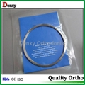 5 meter niti wires Dental Orthodontic arch wire