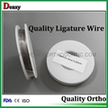 Dental ligature wires orthodontic ligature wire