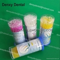 Disposable dental products dental applicators brush