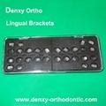 Lingual bracket -orthodontic bracket