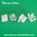 orthodontic bracket  Ceramic braces ceramic self ligating bracket