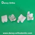 Dental braces ceramic self ligation brackets self ligating brackets self ligate