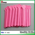 orthodontic dental elastics mixed colors dental