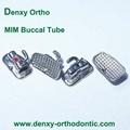 Wide entrance Dental orthodontic buccal tube