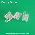 dental orthodontic brackets sapphire