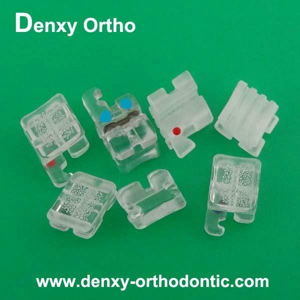 Sapphire brackets in dental 2