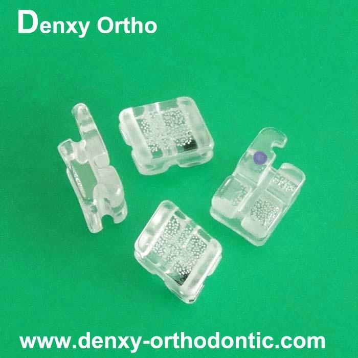 Sapphire brackets in dental