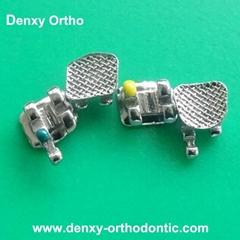 Dental metal bracket Bondable bracket orthodontic supplier dental supply