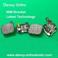 Dental bondable bracket metal braces