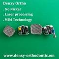 Galaxy Brackets Sandblast brackets Dental MIM  dental brackets Monoblock bracket