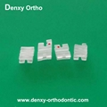 Sapphire brace-orthodontic  ceramic crystory brackets dental clear brackets